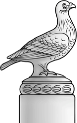 An illustration of The Bird trophy.